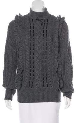 Christopher Kane Cashmere Cable Knit Sweater