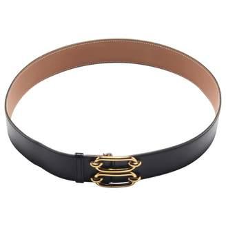 Hermes Gold Leather Belt