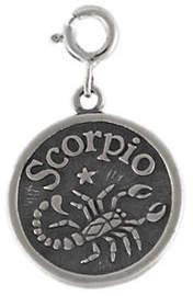 QVC Sterling Zodiac Scorpio Charm