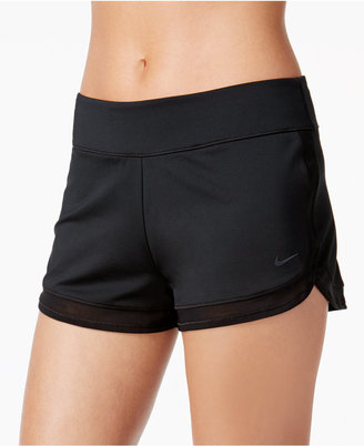 Nike Mesh-Trim Board Shorts $48 thestylecure.com