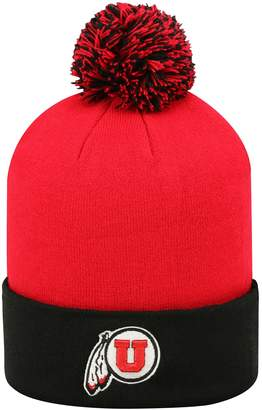 044eaa0321e Top of the World Adult Utah Utes Pom Knit Hat