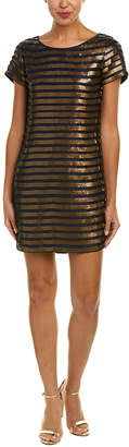 French Connection Serpent Sequin Shift Dress