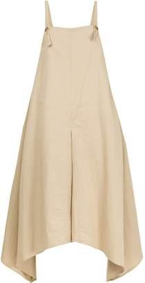 Bassike asymmetric flared dress