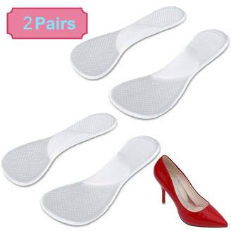 7c2727e6d8 TraderPlus 2 Pair High Heel Gel Foot Arch Supports Pad Shoe Cushion Insert  Insole Flat Feet