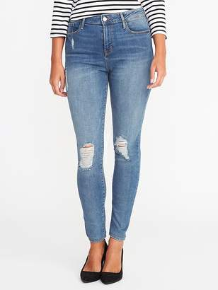 Old Navy High-Rise Distressed Rockstar Jeans for Women