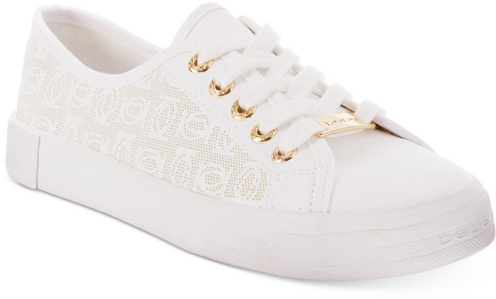 bebe Sport Dane-L Lace-Up Sneakers
