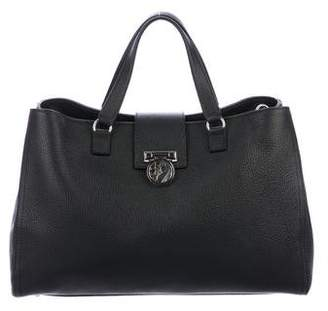 Versace Medusa Leather Tote