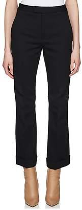 Maison Margiela Women's Crop Cuffed Trousers - Black