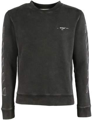 Off-White Diagonal 3d Line Sweatshirt