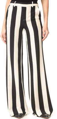 alice + olivia Paulette Wide Leg Pants $295 thestylecure.com