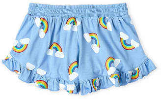 Flowers by Zoe Girls 7-16) Rainbow Ruffle Shorts