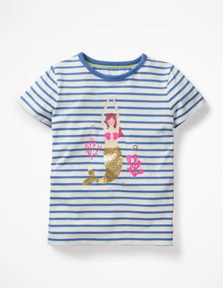 Boden Sparkly Mermaid T-shirt