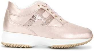 Hogan sequin-embellished sneakers