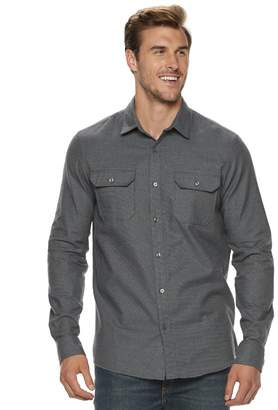 Apt. 9 Men's Brushed 2-Pocket Button-Down Shirt