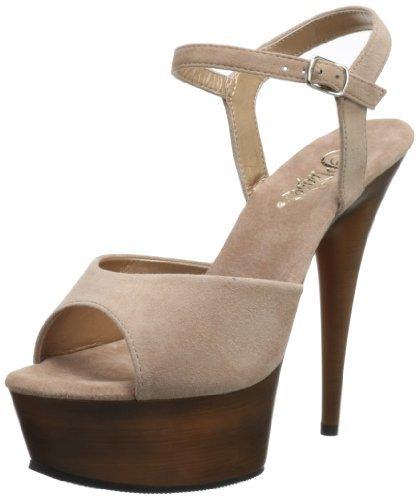 Pleaser USA Women's Delight-609 TPS Platform Sandal
