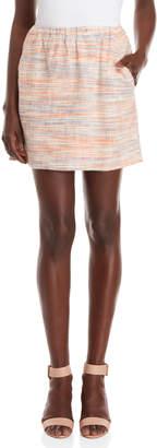 Lilla P Cotton Slub Woven Pull On Skirt