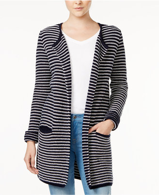 Tommy Hilfiger Taylor Striped Cardigan , Only at Macy's $89.50 thestylecure.com