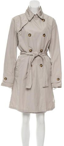 Moncler Moncler Double-Breasted Trench Coat