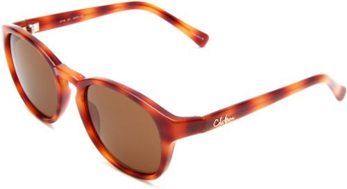 Cole Haan Women's C 718 25 Round Sunglasses,Honey Tortoise Frame/Brown Lens,One Size