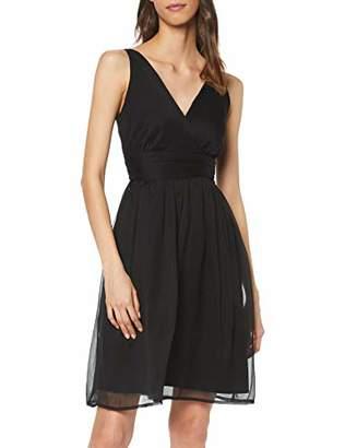 Vero Moda NOS Women's VMJOSEPHINE SL Above Knee Dress Color Black, (Size of : L)