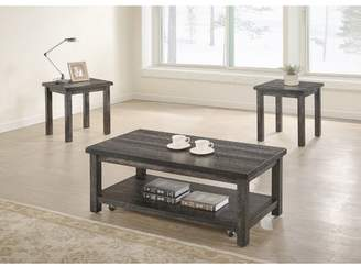Millwood Pines Tapley 3 Piece Coffee Table Set