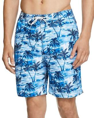 Trunks Surf & Swim Co. Tropical Palm-Print Board Shorts - 100% Exclusive