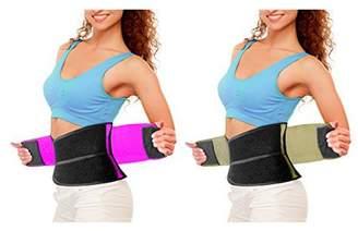 92ecb64f6a4 Tonewear Inc IGIA Shape Slimming Molding Workout Belt Pink Nude