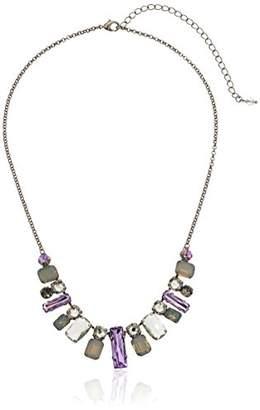 Sorrelli Lotus Regal Rectangles Necklace