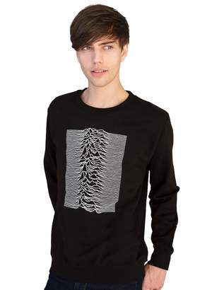 Pulsar Strand Clothing Artwork Used by Joy Division for The Unknown Pleasures - Sweatshirt/Long Sleeve Shirt - (M)
