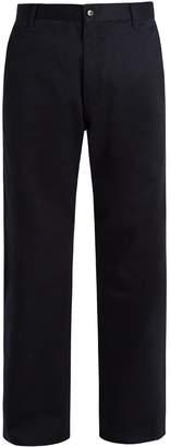 Junya Watanabe X Carhartt wide-leg cotton-twill trousers