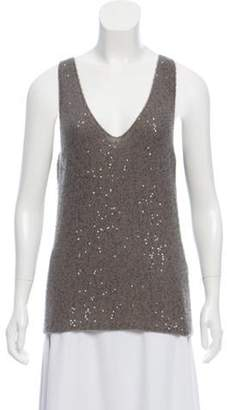 Loro Piana Sequined Cashmere Top Sequined Cashmere Top