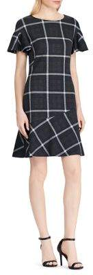 Lauren Ralph Lauren Petite Plaid Fit-&-Flare Dress