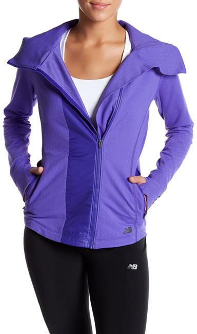 New BalanceNew Balance Heat Mock Neck Jacket