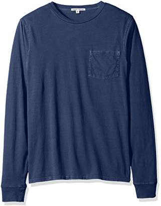 Threads 4 Thought Men's Sustainable Organic Cotton Long Sleeve Pocket Tee
