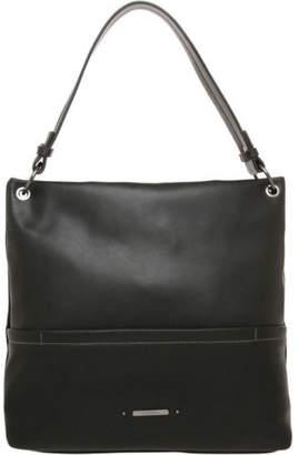 Basque NEW Mia Shoulder Strap Hobo Bag Black
