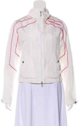 Versace Lightweight Zip-Up Jacket
