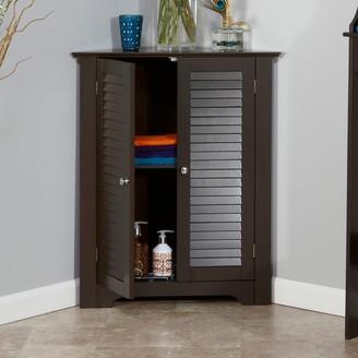 Riverridge Home RiverRidge Home Ellsworth 3-Shelf Corner Cabinet