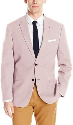 Tommy Hilfiger Men's Two Button Pinstripe Blazer
