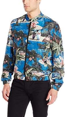 Just Cavalli Men's Printed Bomber Jacket