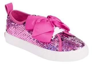 Jo-Jo JoJo Siwa Girls' Shimmer Reverse Sequins Low Top Sneaker
