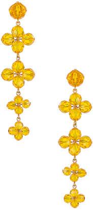 For Love & Lemons West End Tiered Jewel Earrings