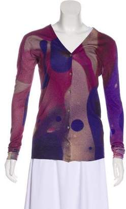 Christopher Kane Silk Knit Cardigan