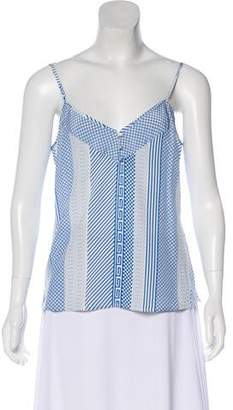 Veronica Beard Silk Sleeveless Top