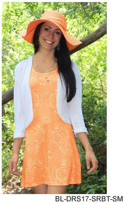 Simply Noelle Tangerine Tank Dress