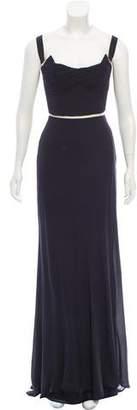 Maria Lucia Hohan Sleeveless Evening Dress