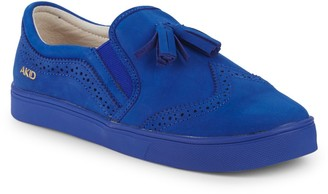 Akid Little Girl's & Girl's Liv Tassel Leather Brogues