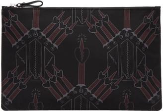 Valentino Black Nylon Love Blade Pouch $395 thestylecure.com