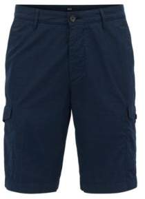 BOSS Hugo Cargo Short, Regular Fit Crigan Short Cargo D 34R Dark Blue