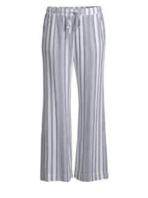 Bella Dahl Side Slit Striped Pants