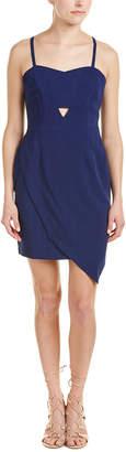 Greylin Asymmetrical Sheath Dress